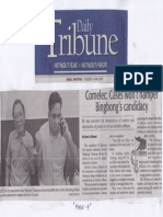 Daily Tribune, May 14, 2019, Comelec Cases wont hamper Bingbong's candidacy.pdf