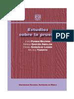 Estudios Sobre La Prueba UNAM