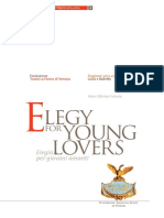 Elegy for Young Lovers
