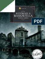 Ritorno a Bassavilla - Danilo Arona - Narrativa - Horror