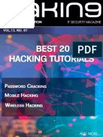 Best 20 Hacking Tutorials