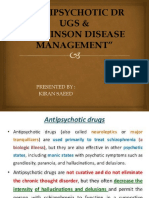 Pharmacology of Central Nervous System Antipsychotic and Parkinson Disease