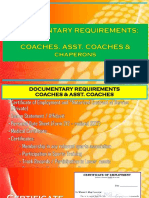 Coaches Docs