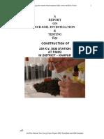 Stambh Infra Soil Test by www.neevn.in