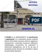 01 - SEMANA - DEFENSA NACIONAL.ppt