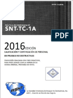 SNT-TC-1A 2016 en Español