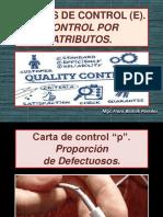 Cartas de Control e. Cartas P-np