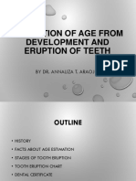 Estimation of age from development and eruption of (2).pptx