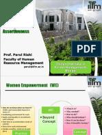 Women Empowerment Ppt