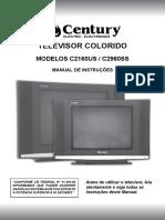 MANUAL DE INSTRUÇÕES TV C2160US C2960SS
