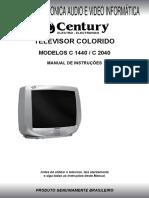 Manual de Usuário Do TV C1440 e TV C2040
