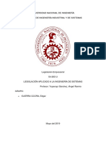 Legislacion Aplicado a La Ingeniería de Sistemas