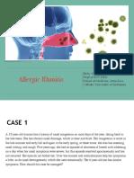 8. (THT) Allergic Rhinitis for Medical Student