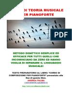 Corso di teoria musicale per pianoforte