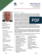 John Ferraro CV.docx