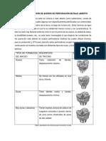 Criterios de Selección de Aceros de Perforación en Rajo Abierto