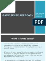 game sense powerpoint presentation