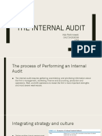 The Internal Audit
