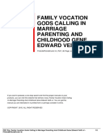 ID9a9aa43ac-family vocation gods calling in marriage parenting and childhood gene edward veith jr
