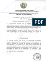Providencia Administrativa N° 253-2019