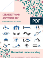 Disability and Accessibility