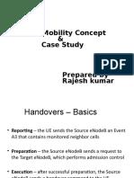 LTE Mobility Concept & Case Study