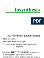 Photosynthesis -Engineering Biology