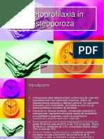 Kinetoprofilaxia in Osteoporoza