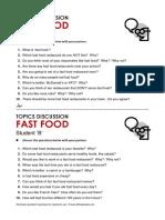 Discuss2 Fastfood