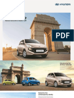 SANTRO Hatchback Brochure