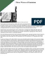 Betty Friedan_ the Three Waves of Feminism - Ohio Humanities
