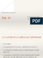 Rule 45 ppt