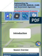 Government Accounting  Manual  for National Government Agencies Volume I