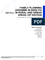 IDb43ab07e0-family planning programme in india its impact in rural and urban areas 1st edition