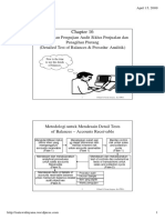Chapter 16 Penyelesaian Pengujian Audit Siklus Penjualan Dan Penagihan Piutang (Detailed Test of Balances & Prosedur Analitik)