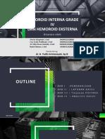 HEMOROID INTERNA GRADE IV.pptx