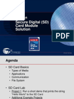 Sd Card Module Evaluation Kit 22 psoc
