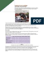 Choosing Shielding Gases for welding