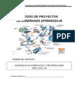 Metodo de Proyecto Analisis de Materiales Ferrosos Senati 2019