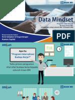 Internalisasi DATA MINDSET