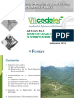Electrificacion Rural Sostenible