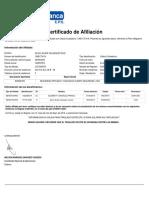 Certifica Do Cot i Zante 20190512
