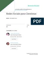 Redes Sociais para Cientistas
