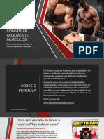 Como Construir Facilmente Músculos