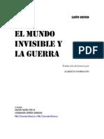 EL MUNDO INVISIBLE Y LA GUERRA - LEON DENIS