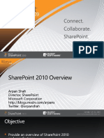 SPC265 SharePoint 2010 Overview Shah