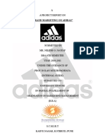50266003 Adidas Project on Brand Marketing1