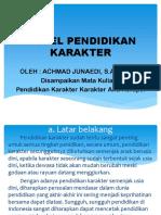 3. Model Pendidikan Karakter