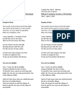 Lyrics of Mass Choir Songs | Jesus | Theology
