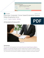 Interview Corporate Confucian Virtue'-Based Evaluation System Helps Employees Grow (Mobi